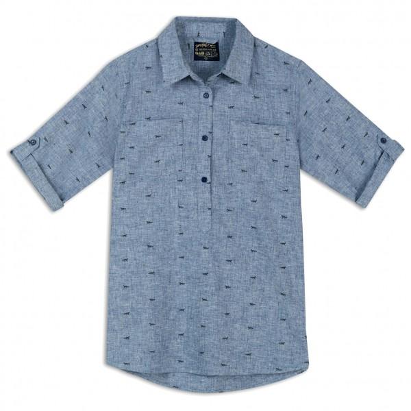 United By Blue - Womens Fox Trail Printed Popover - Naisten paita