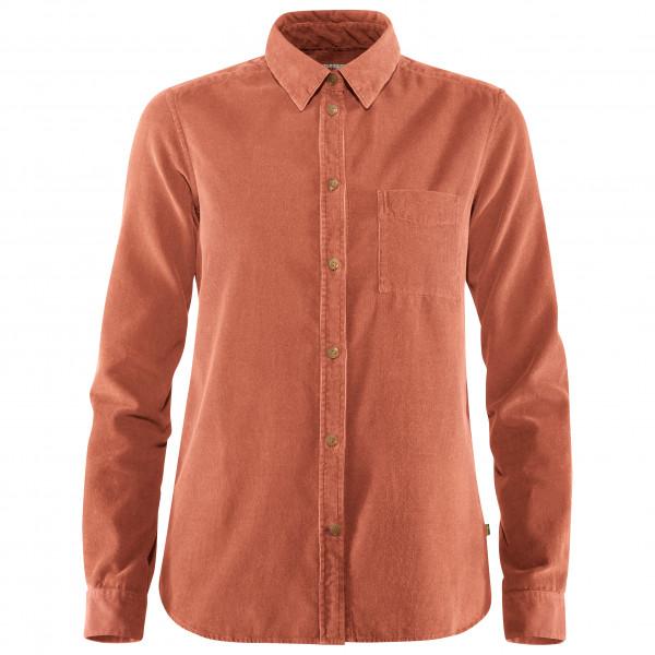 Fjällräven - Women's Övik Cord Shirt - Blusar