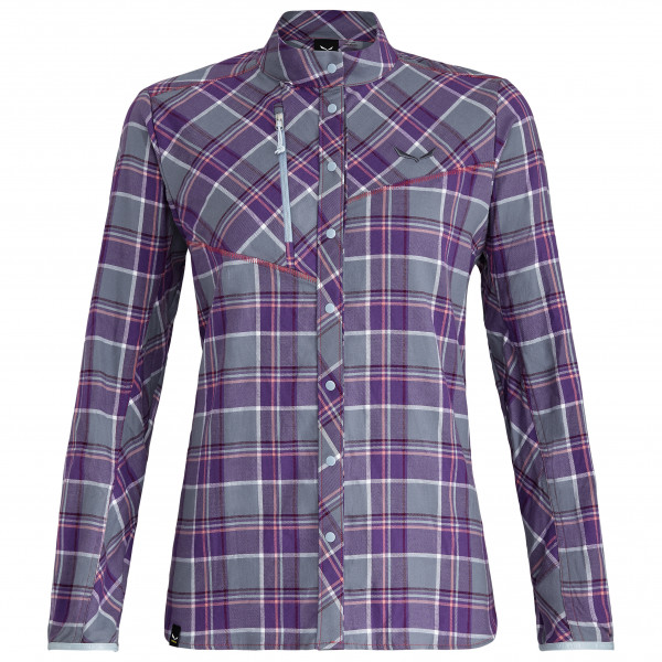 Salewa - Women's Fanes Flannel 4 PL L/S Shirt - Blouse