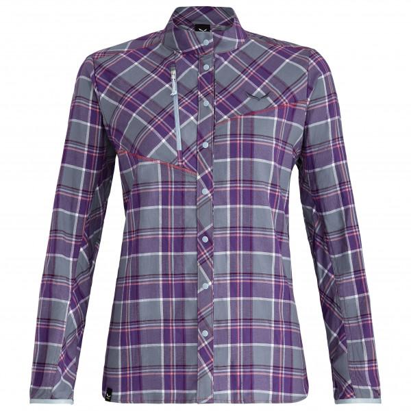 Salewa - Women's Fanes Flannel 4 PL L/S Shirt - Bluse