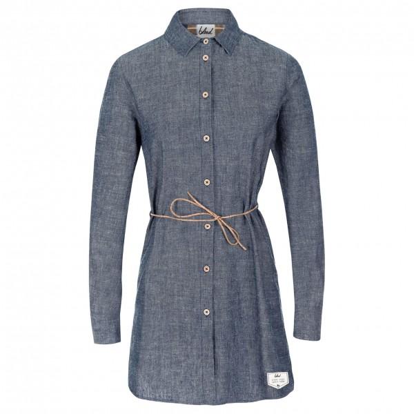 Bleed - Women's Denim Hemp Dress - Robe