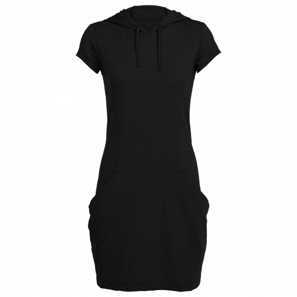 Icebreaker - Women's Yanni Hooded Dress - Jurk