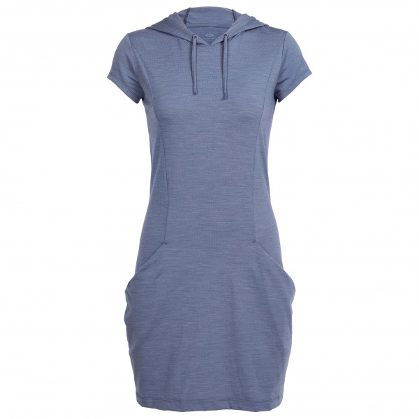 Icebreaker - Women's Yanni Hooded Dress - Mekko