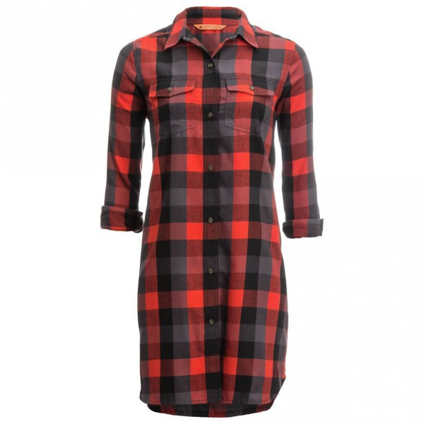 Basin + Range - Women's Snow Creek Flannel Dress - Klänning