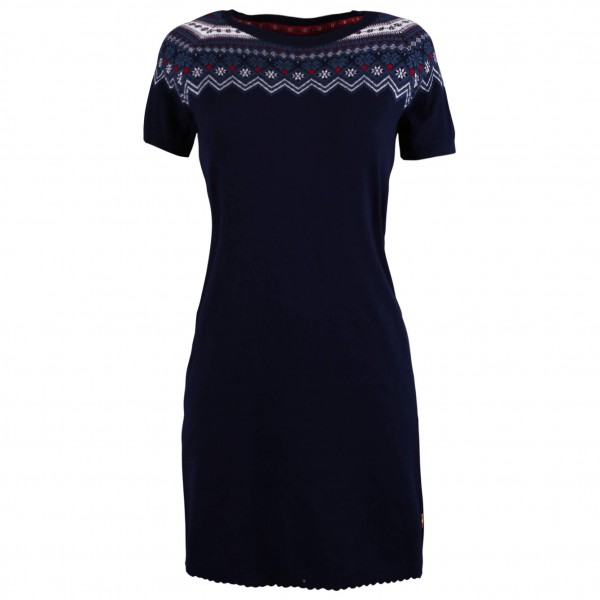 Alprausch - Women's Schneeflöckli Knitted Dress - Kleid