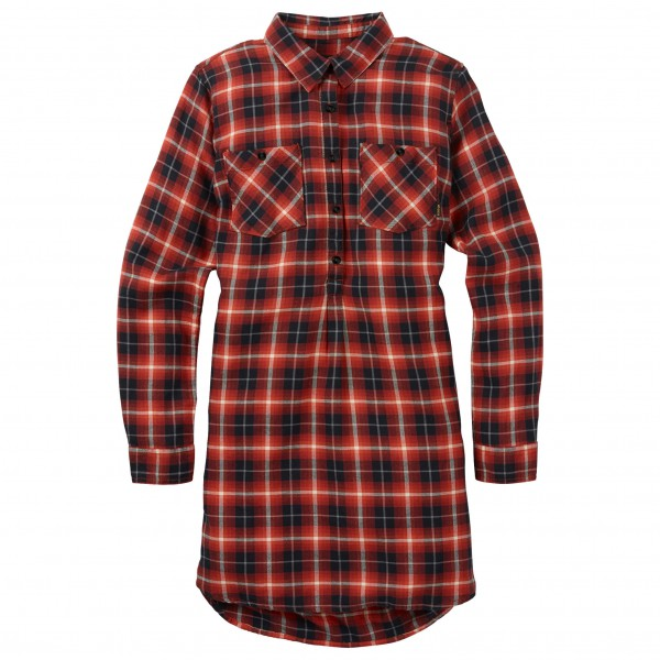 Burton - Women's Grace Flannel Tunic L/S - Kjole