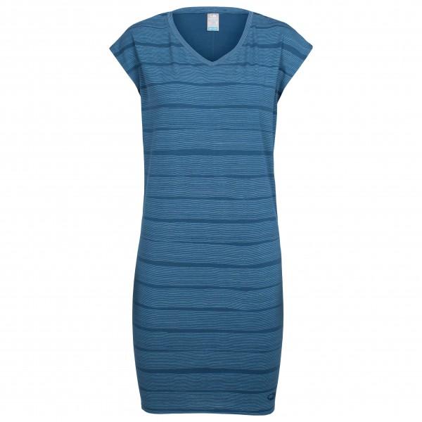 Icebreaker - Women's Yanni Tee Dress Combed Lines - Dress