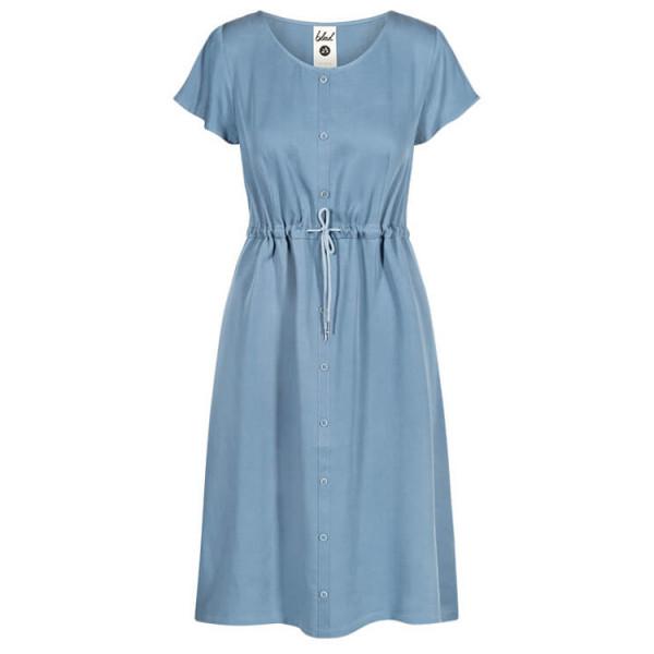 Bleed - Women's Light-Breeze Buttoned Lyocell - Kleid