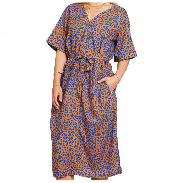 DEDICATED - Women's Dress Bornholm Leopard - Kleid