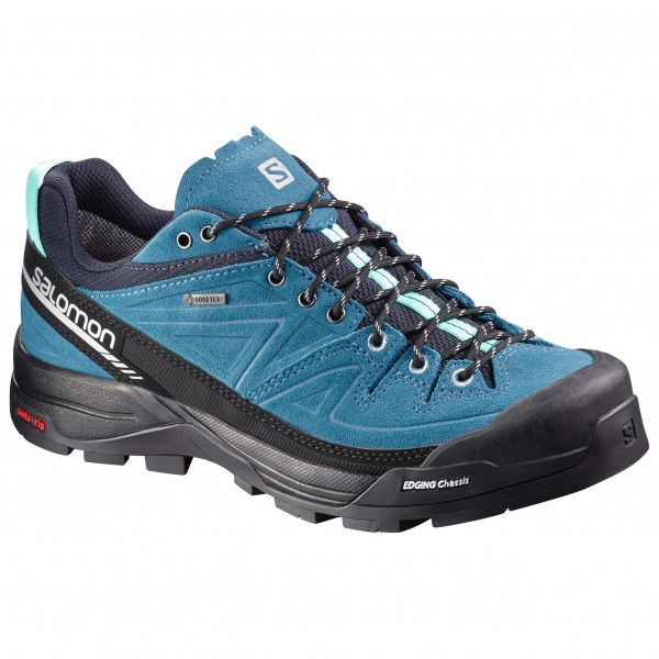 Salomon - Women's X Alp Leather GTX - Approach-kenkä