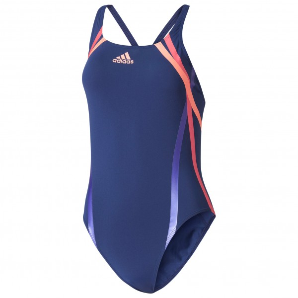 adidas - Women's Regular Train. Rubber-Printed Swimsuit Inf - Swimsuit