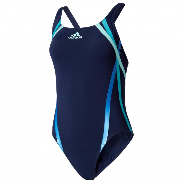 adidas - Women's Rubber-Printed Training Swimsuit Infinitex+