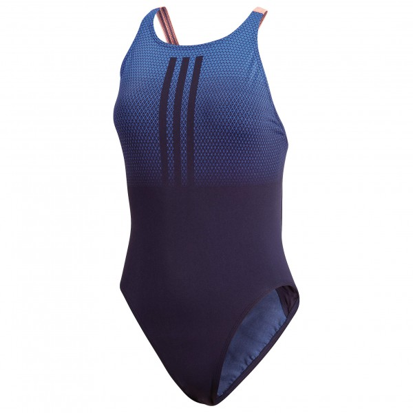 adidas - Women's Performance T-Suit 3Stripes Placed Print - Badedrakt