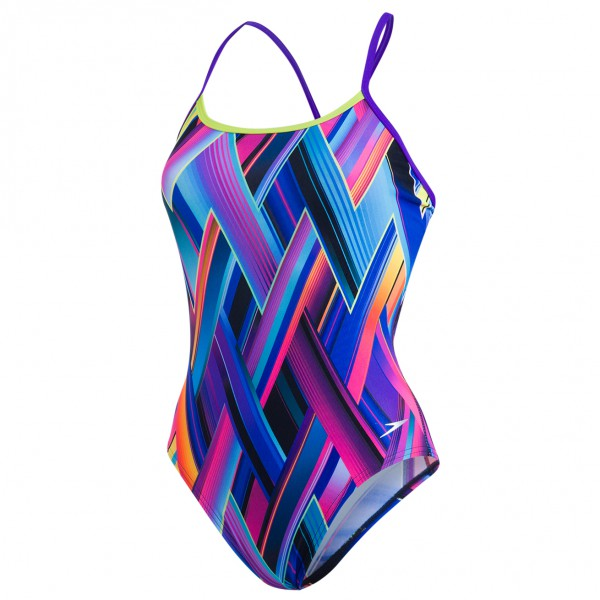 Speedo - Women's Fizzbounce Single Crossback - Badeanzug