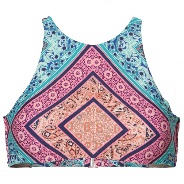 O'Neill - Women's High Neck Bikini Top with Backstraps - Bikini top
