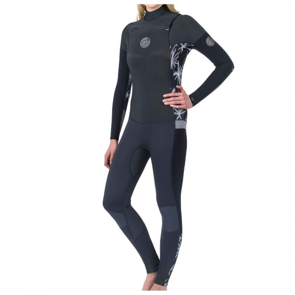 Rip Curl - Women's Dawn Patrol 3/2 mm GB-Stitch Chest Zip - Wet suit