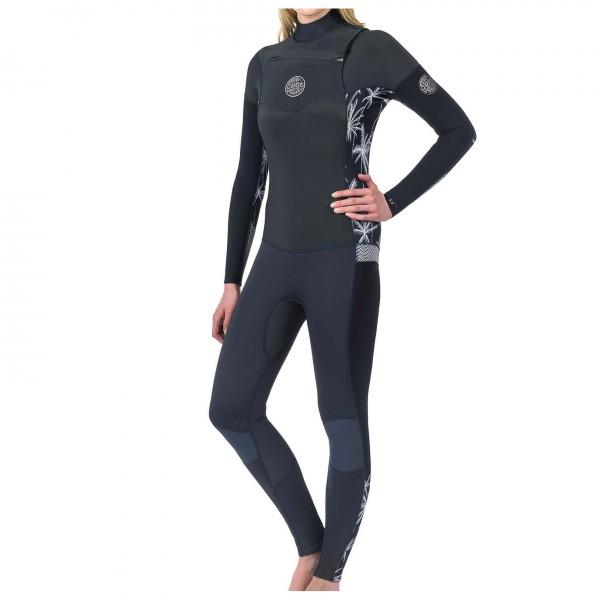Rip Curl - Women's Dawn Patrol 4/3 mm GB-Stitch Chest Zip - Wet suit