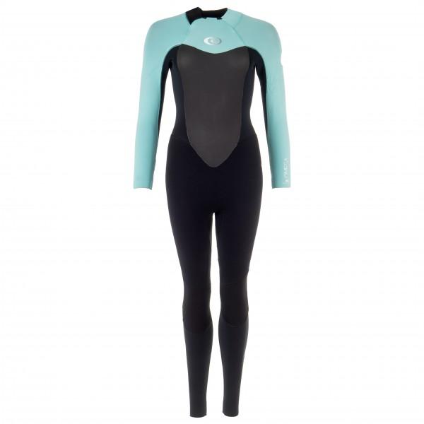 Rip Curl - Women's Omega 4/3 mm GB-Stitch Back Zip Steamer - Neoprenanzug