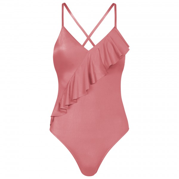 Seafolly - Shine On Fril Front Maillot - Badedrakt