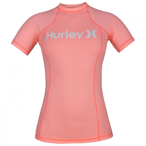 Hurley - Women's One & Only Rashguard S/S - Lycra