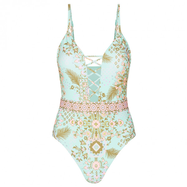 Seafolly - Free Spirit Lace Up Maillot - Baddräkt