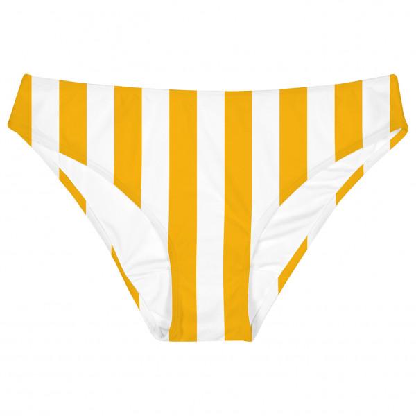 DEDICATED - Women's Bikini Briefs Burgsvik Big Stripes - Bikinibroekje