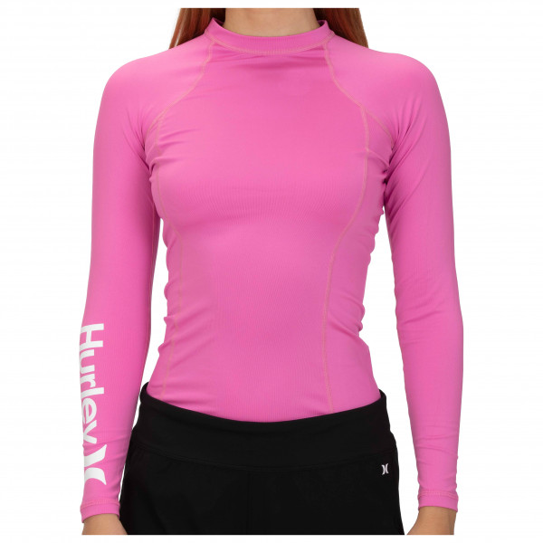 Hurley - Women's One & Only Rashguard L/S - Lycra