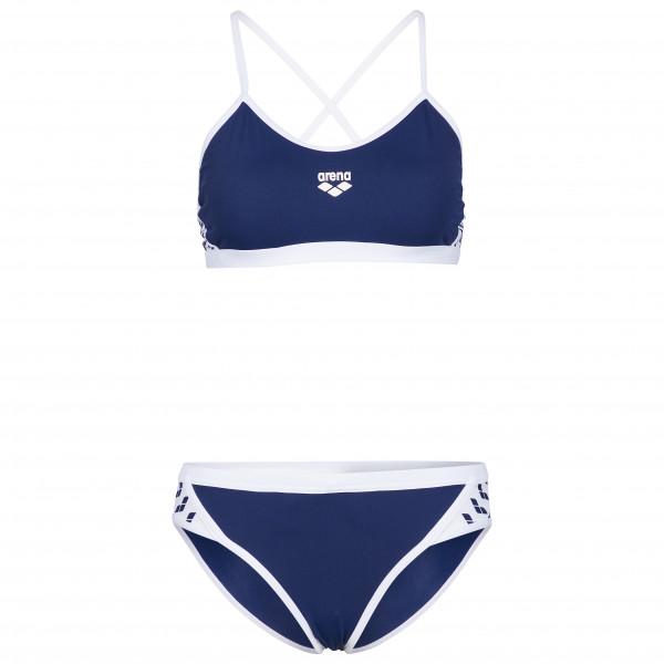 Arena - Women's Team Stripe Two Pieces - Badeanzug