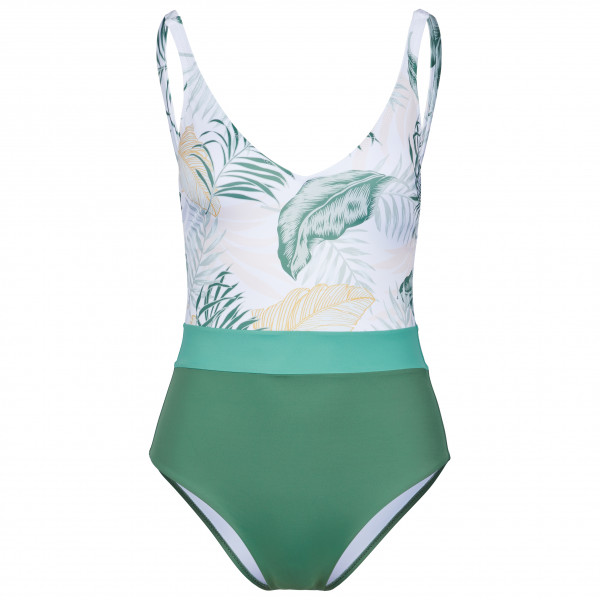 Women's Coastal Palms Cheeky 1 Piece - Swimsuit