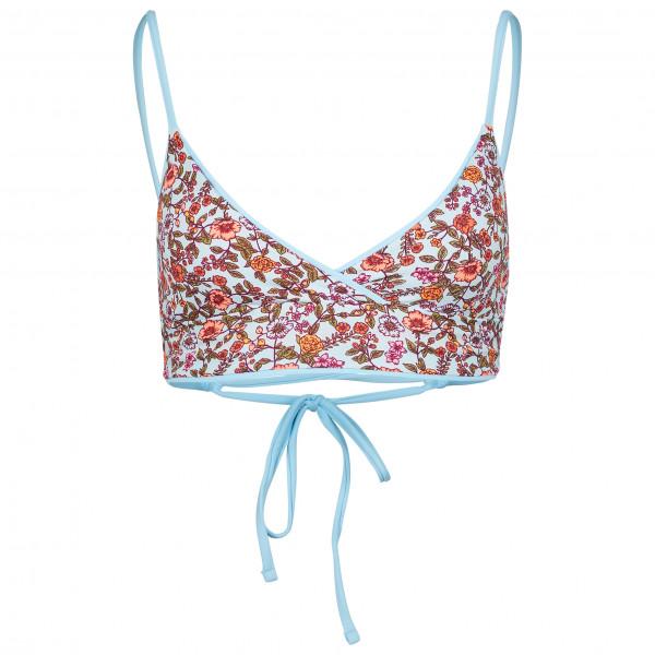 Women's Cloud Blue Criss Cross - Bikini top