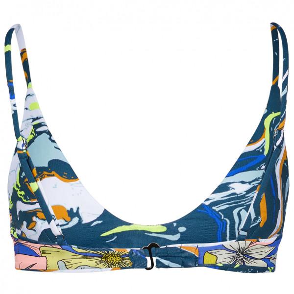Women's Marble Blue Creta - Bikini top