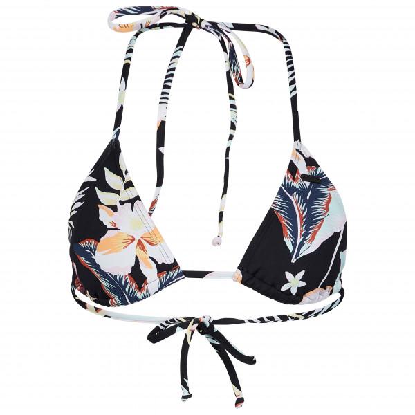 Women's Printed Beach Classics Tiki Tri Bikini Top - Bikini top