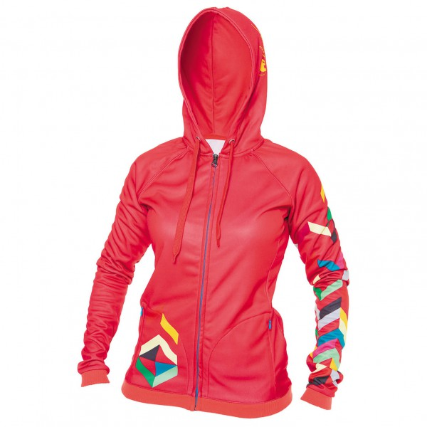 Local - Women's Bask Fleece Zip Hoody - Fietsjack