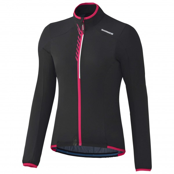 Shimano - Stretch-Windbreakerjacke Damen - Fahrradjacke