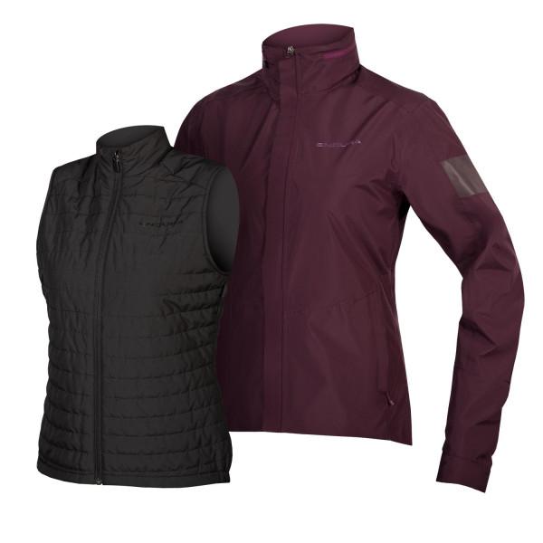 Endura - Women's Damen Urban 3 in 1 Jacke - Cycling jacket