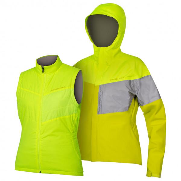 Women's Urban Luminite 3 in 1 Jacke II - Cycling jacket