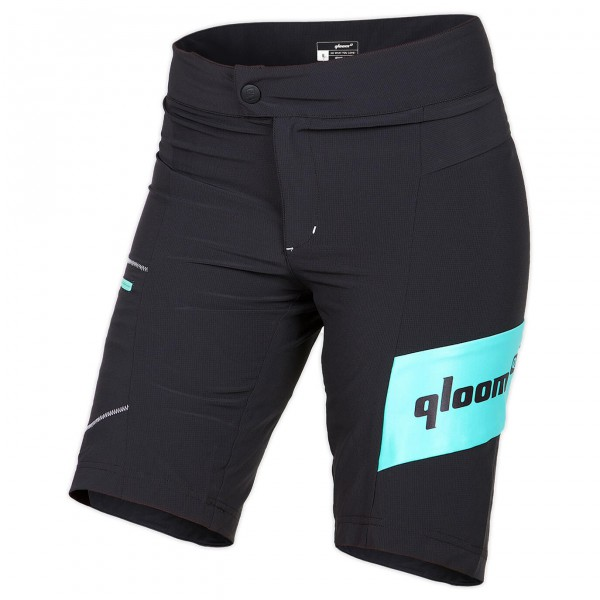 Qloom - Women's Bondi Premium Loose Fit Shorts w/ Innershort