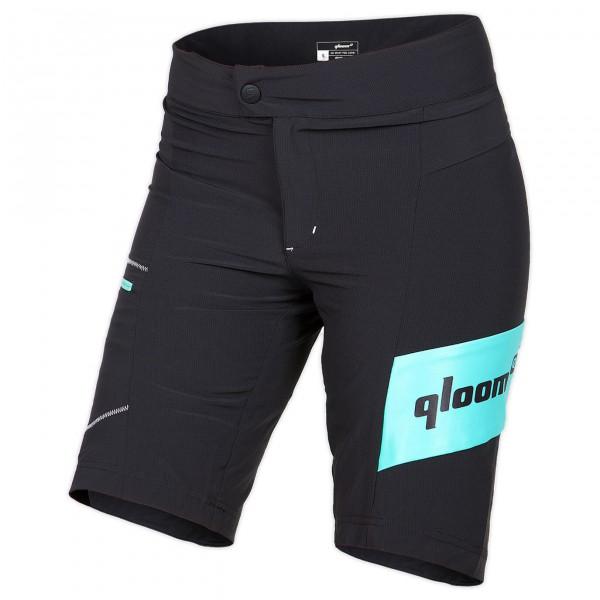 Qloom - Women's Bondi Premium Loose Fit Shorts w/ Innershort