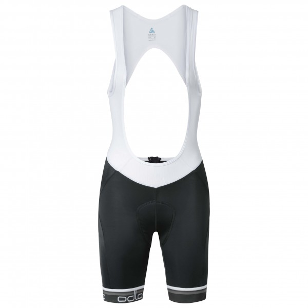 Odlo - Women's Flash X Tights Short Suspenders - Cycling pan
