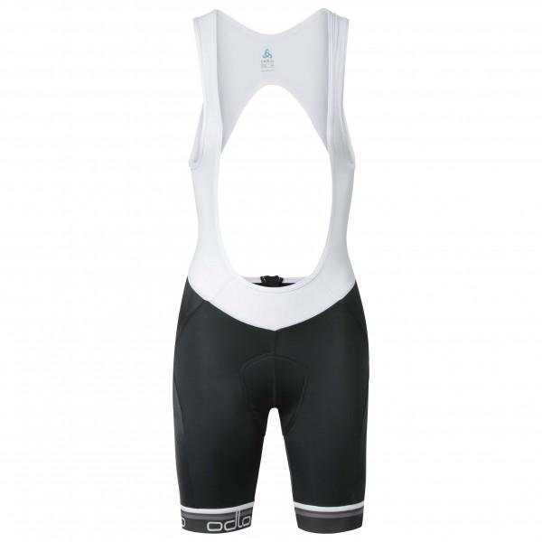 Odlo - Women's Flash X Tights Short Suspenders - Cycling pan