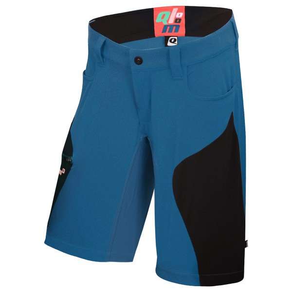 Qloom - Seal Rock Shorts with Innershorts - Cykelbyxa