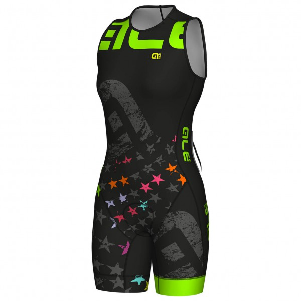 Alé - Women's Sleeveless Triathlon Unitard Olympic Stell - Hel cykeldräkt