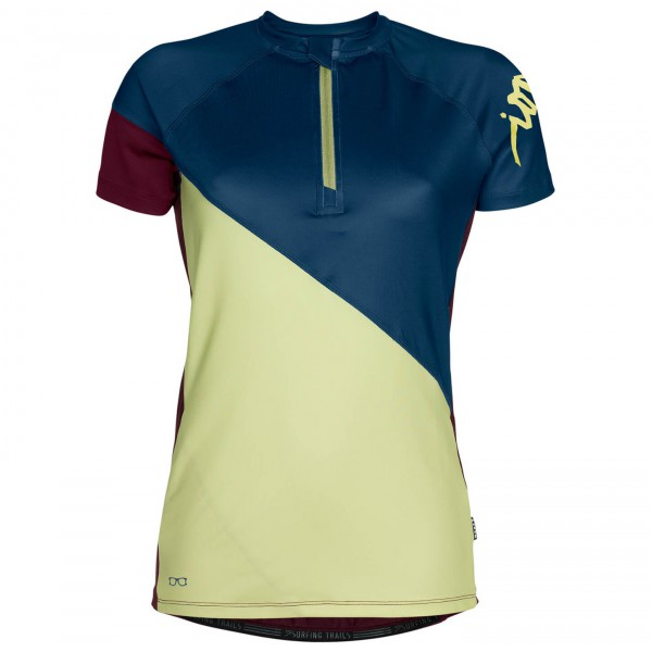 ION - Women's Tee Zip S/S Venta - Cycling jersey