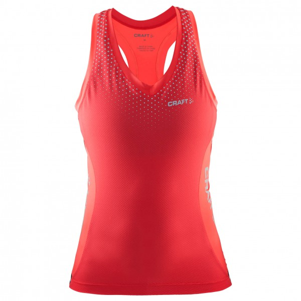 Craft - Women's Glow Singlet - Radtrikot