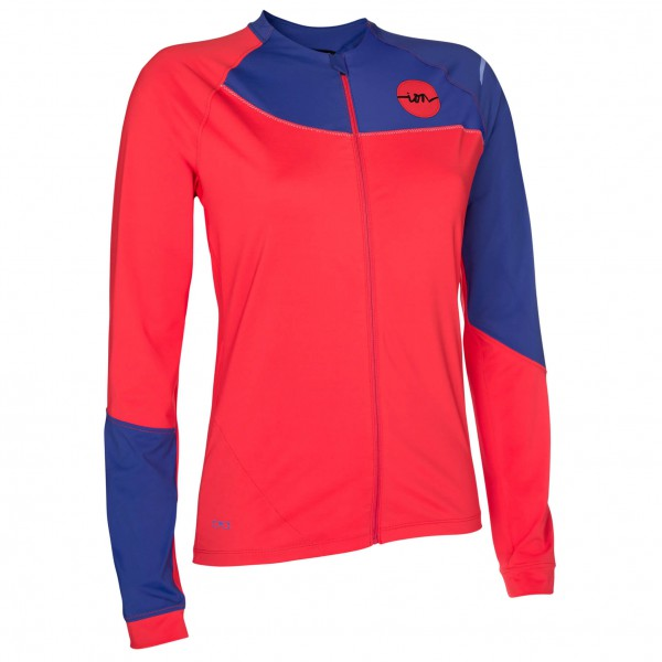 ION - Women's Tee Full Zip L/S Verta - Cycling jersey