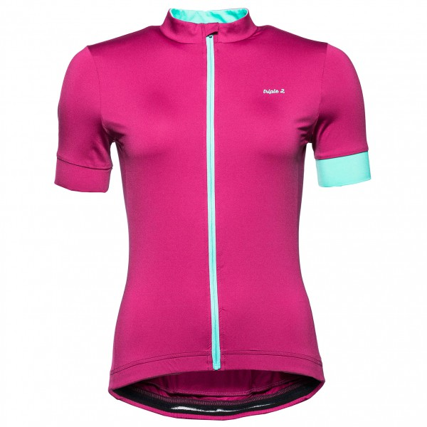 Triple2 - Women's Velo Zip Performance Shirt - Fietsshirt