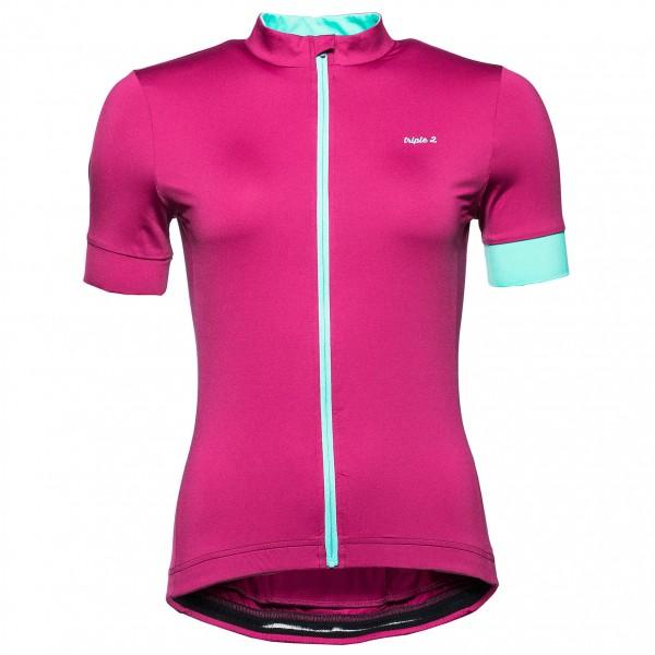 Triple2 - Women's Velo Zip Performance Shirt - Maillot de cy