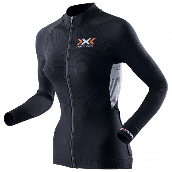 X-Bionic - Lady The Trick Shirt L/S Full Zip - Maillot de cy