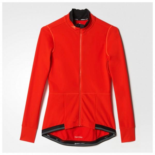 adidas - Women's Supernova Warm Jersey - Radtrikot