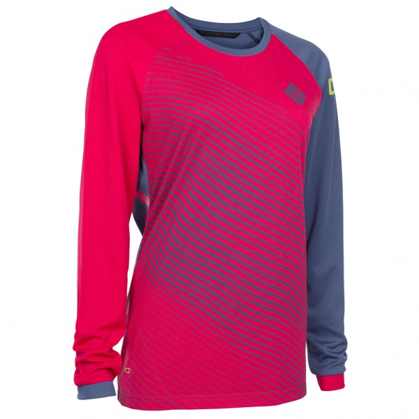 ION - Women's Tee L/S Scrub_Amp - Maillot de cyclisme
